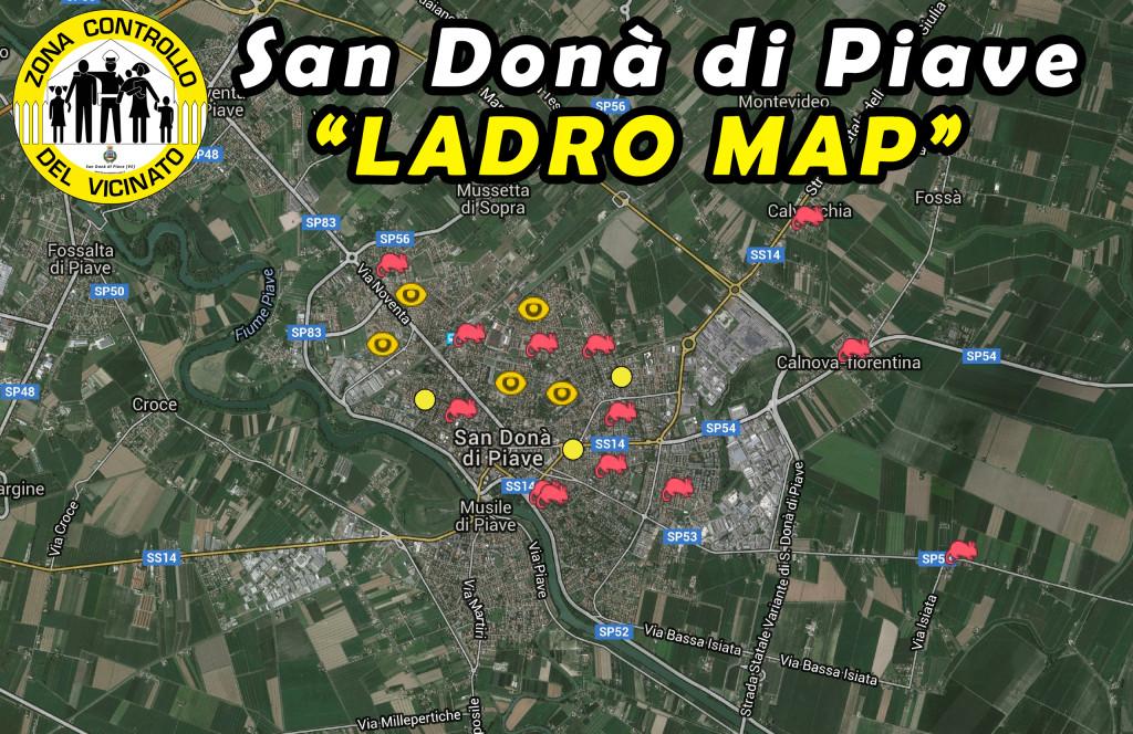 Ladro-Map-San-Donà-di-Piave